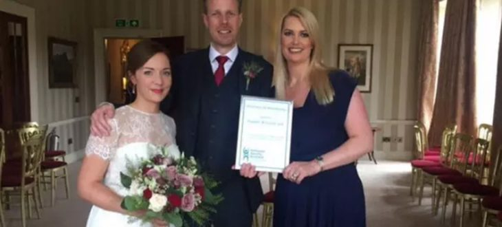 50,000th person married in Scotland